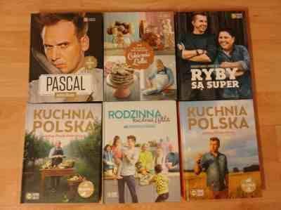 Książki Kuchnia Lidla nowe komplet 8 sztuk+gratis CD