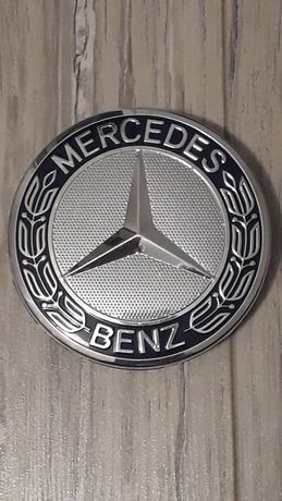 Kapsle, emblematy do felg Mercedes, 75mm, zamiennik!