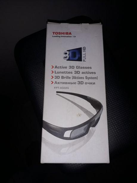 Okulary 3D Tochiba