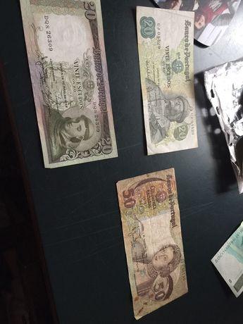 Notas 20/50 escudos