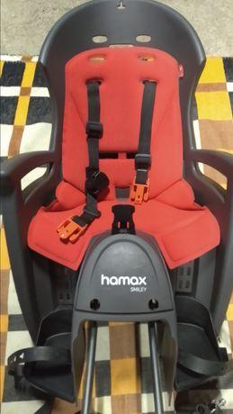 Fotelik rowerowy dla dzieci hamax smiley
