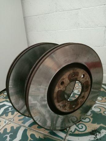 Тормозные диски передние Peugeot Citroen