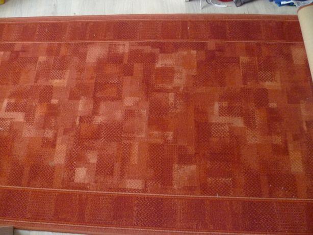 Dywan chodnik brązowy do przedpokoju korytarz 100 x 300 cm