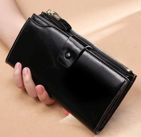 Женский кошелек, портмоне, клатч, кейс,визитница кожзам