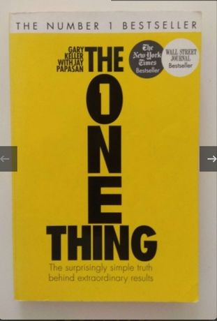 The onde thing - Gary Keller