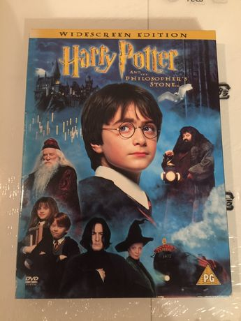 DVD Harry Porter and The Philosophers atine - special edition