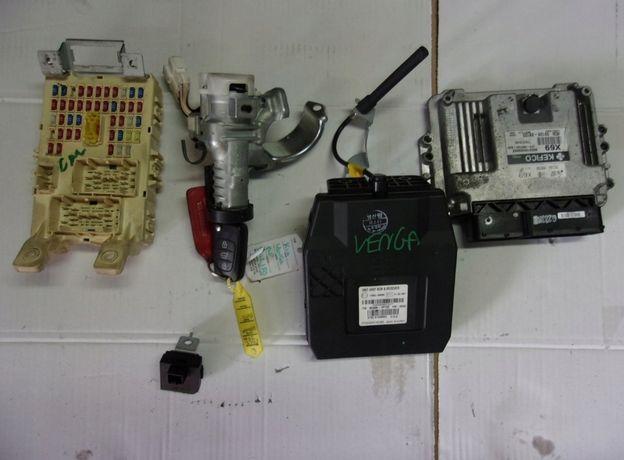 Zestaw startowy do kia venga 09- 1.4 benzyna g4fa stacyjka komputer