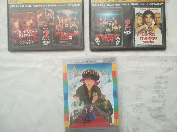 Filmy DVD Purpurowe rzeki, Straszny film, Córka mojego szefa