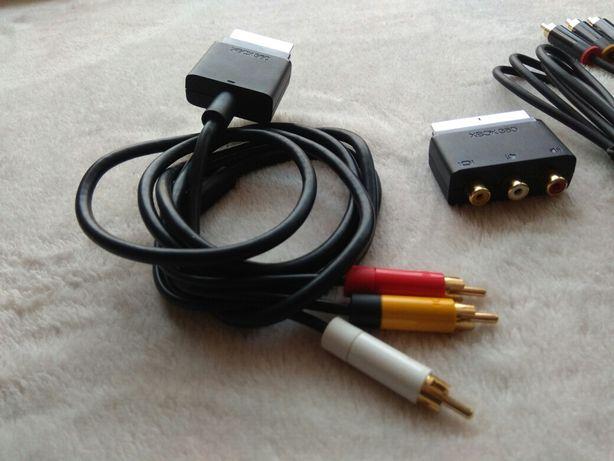Oryginalny przewód kabel AV komponent telewizyjny do TV Xbox 360