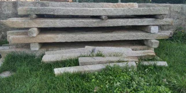 Esteios Pedra/Granito-várias medidas