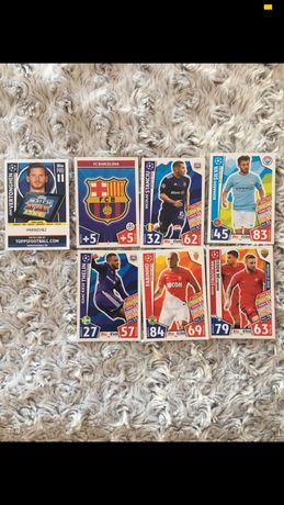 Karty kolekcjonerskie match attax champions league