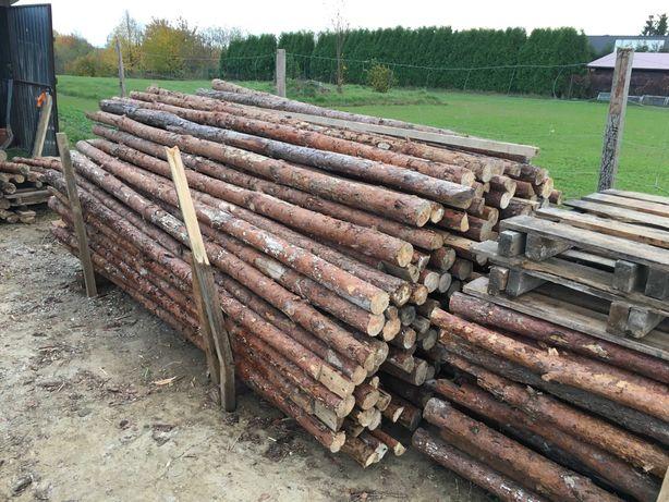 Stemple budowlane drewniane oraz deski