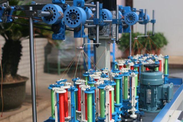 Maszyna do produkcji lin sznurek do makramy oplatarka skręcarka