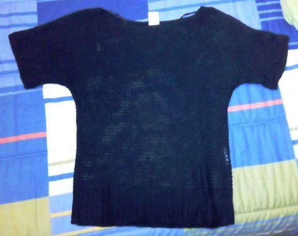 camisola de lã fina