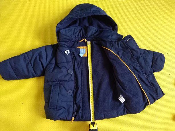 Kurtka zimowa dziecięca i płaszcz 2w1 (18-24 m)