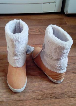 Сапоги/ полусапожки/ угги adidas neo eskimo winter boots 23.5