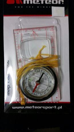 Kompas linijka nowy Meteor