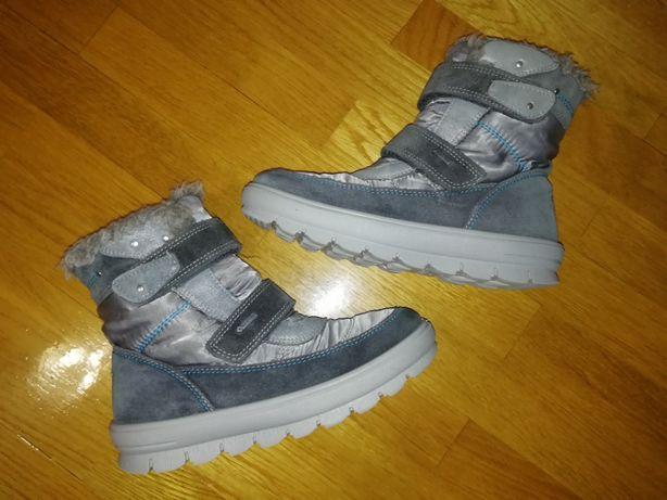 Термо ботинки кожаные зимние Superfit Gore-tex 32 размер