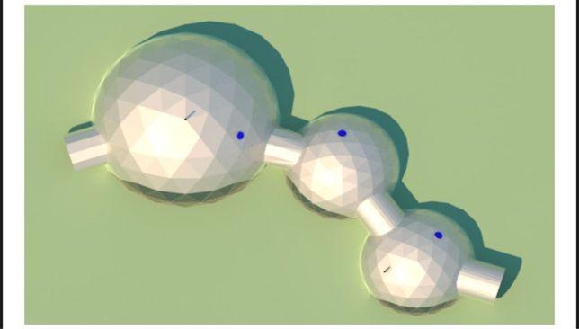 Domes / cupulas geodesicas