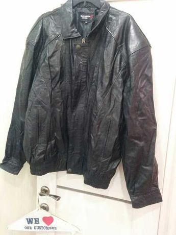 Кожаная куртка мужская XXXL