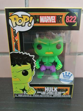 Funko pop Hulk blacklight (Black light) da Marvel- envio com protetor.