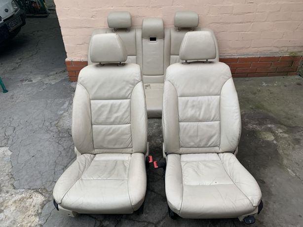Салон/сидения/диван BMW Е60/Е61, подогрев, полуэлектро.