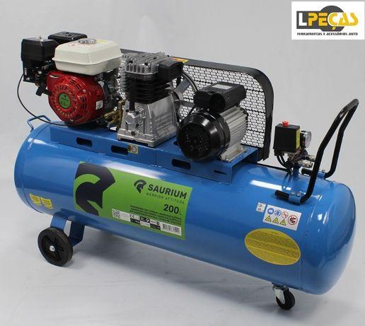 Compressor de Ar Gasolina / Eléctrico 150L