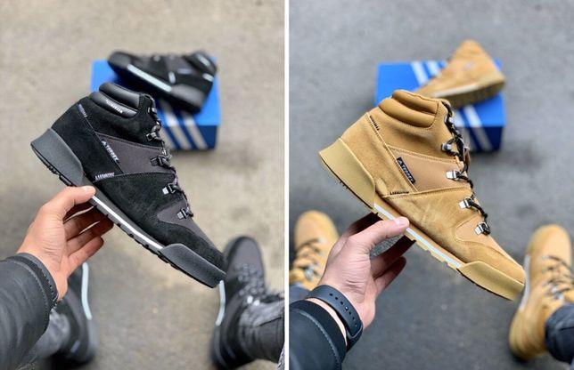 Мужские зимние кроссовки ботинки Adidas Terrex Climawarm Ginger адидас
