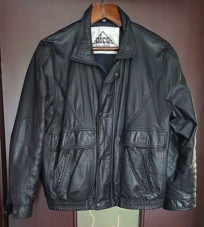 Мужская кожаная куртка бренда NICO! В идеале! Как новая!