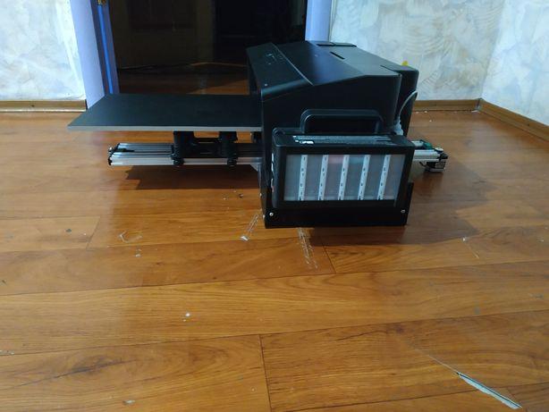 Текстильный планшетный принтер