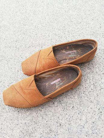 Sapatos beje Skechers Bobs