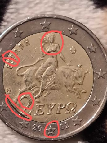 Moeda da Grécia de 2002