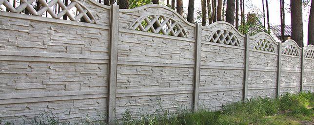Montaż ogrodzeń betonowych paneli siadki stawianie wiat montaż bram i