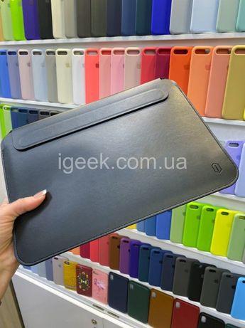 Чехол-папка WIWU на ноутбук MacBook Pro/Air 12/13/15/16 сумка эко-кожа