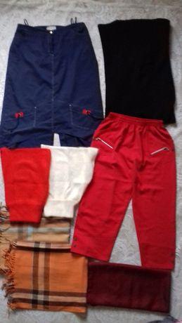 spodnie, spódnice, szaliki, czapki, szal - narzutka (2 w 1)