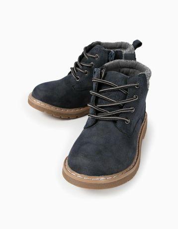 Демисезонные модные ботинки ботиночки zippy, zara, next, ecco