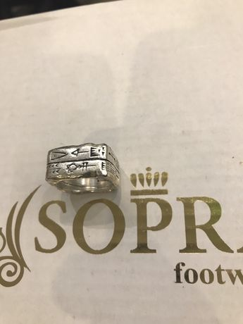 Перстень серебро 925