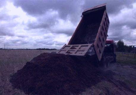 Коровий навоз перегной чернозем сыпец грунт земля