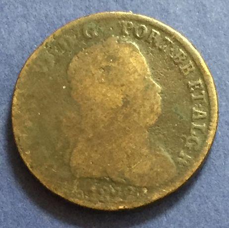 moeda Pataco (40 réis) 1822 - D. João VI - Bronze