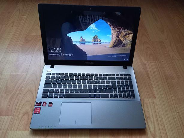 Asus F550 4-ядерный мощный ноутбук