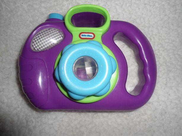 игрушечный фотоаппарат со вспышкой little tikes