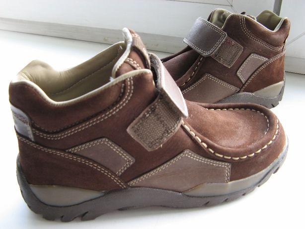 Ботинки ЕССО р30 (20см), нат.кожа,новые