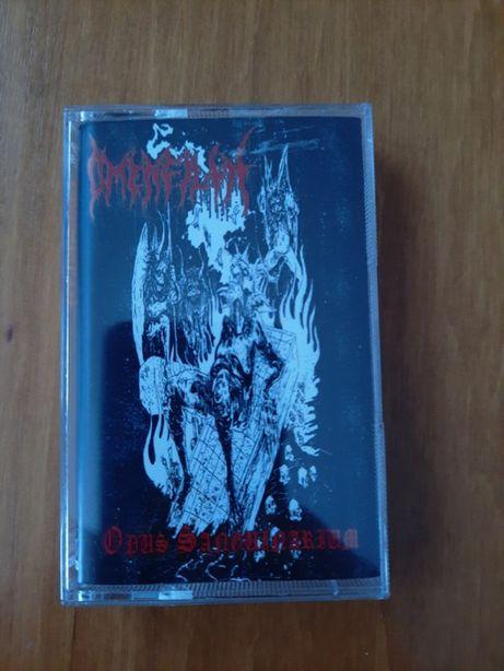 OMENFILTH - Opus Sanguinarium - oldskull black metal - kaseta mc