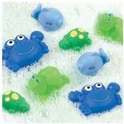 NOWE Zabawki do kąpieli PLAYGRO 8 sztuk