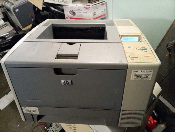 Лазерный принтер HP LaserJet 2430dtn с дуплексом и сетью