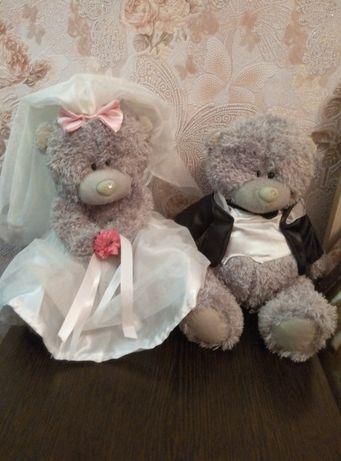 НОВЫЕ свадебные мишки тедди, жених и невеста me to you