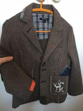 Дизайнерский пиджак DCNY, костюм стиляги 110-116