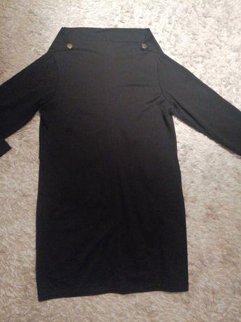 Sukienka czarna koktajlowa