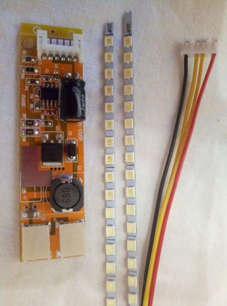 "Набор универсальная ЛЕД LED подсветка LCD мониторов 15-24"""