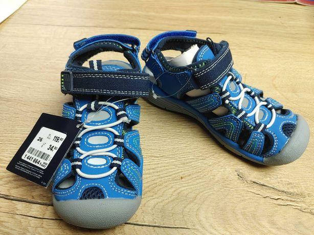 Sandałki chłopięce Fila, nowe z metkami r 26